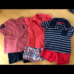 Lot of 8 Baby Boy outfits